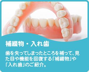 審美歯科・入れ歯
